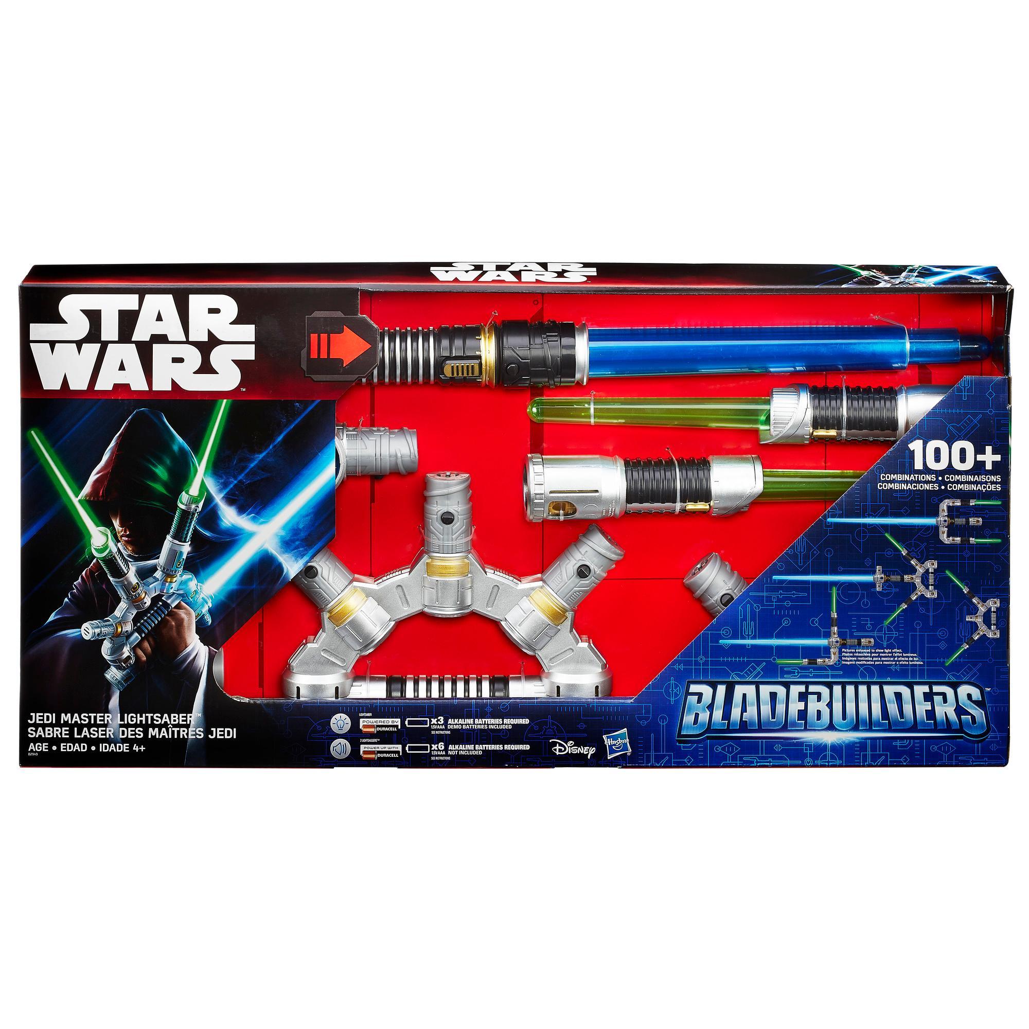 Star Wars Bladebuilders Jedi Master Lightsaber Ages 4