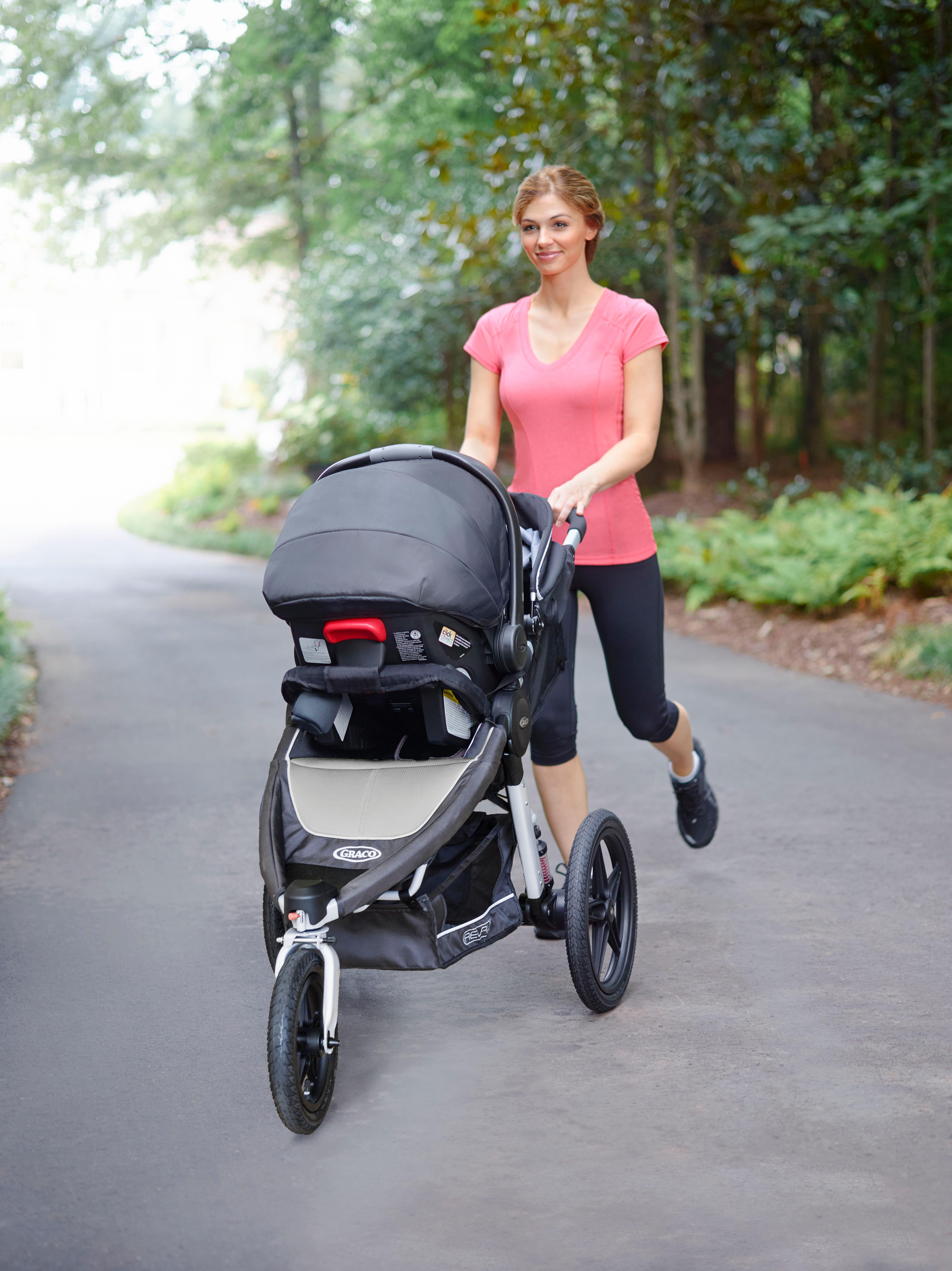 Graco Relay Performance SnugRide Click Connect Jogger ...