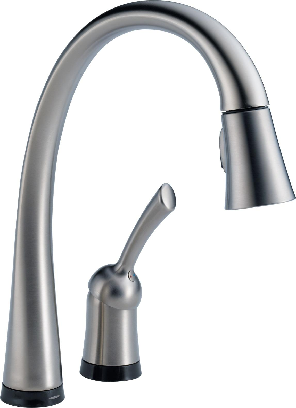Delta 980T-DST Pilar Single Handle Pull-Down Kitchen ...Kitchen Faucet