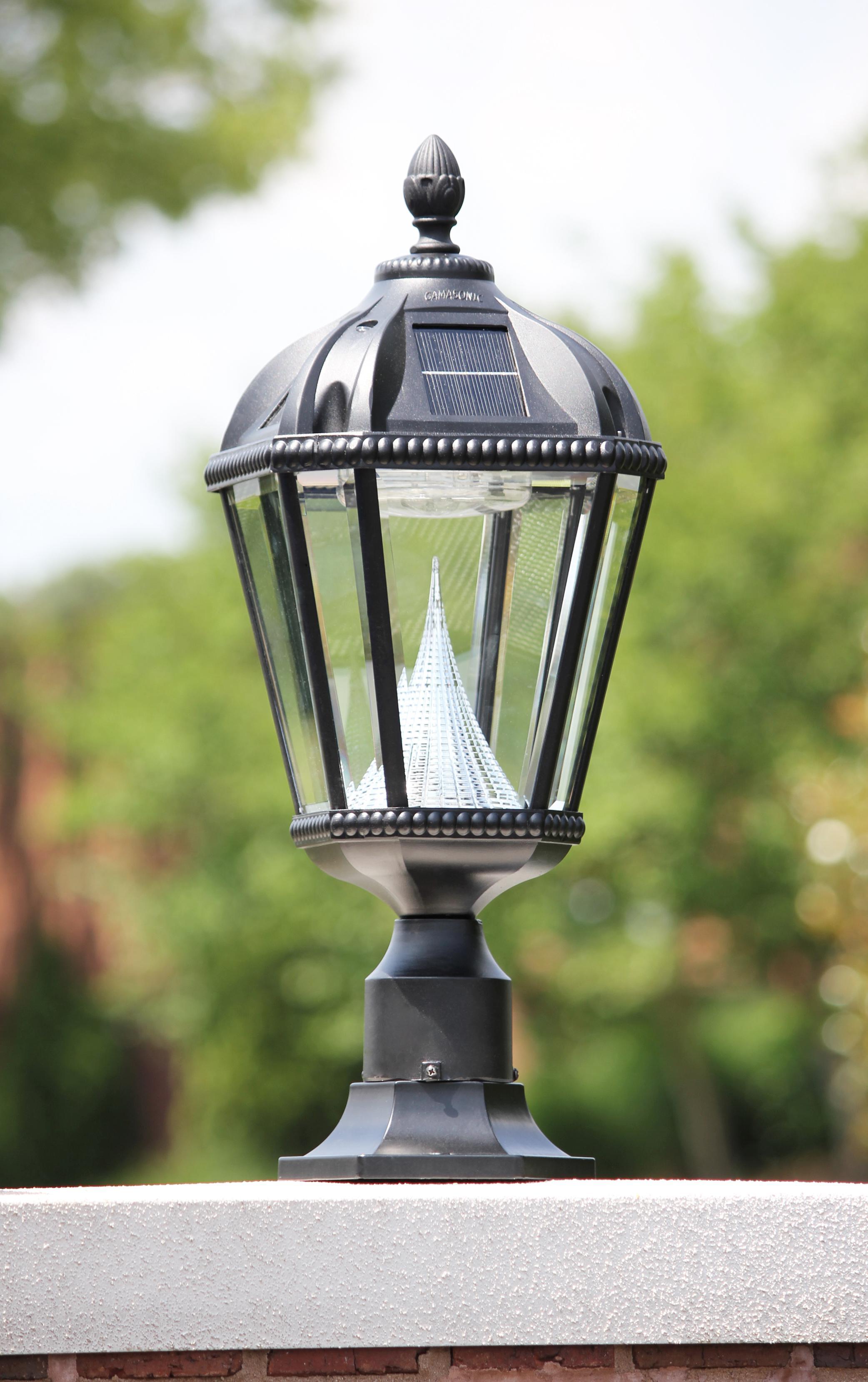 Amazon Com Gama Sonic Royal Solar Outdoor Led Light