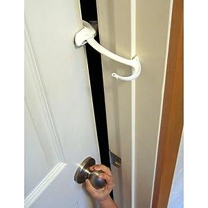 Amazon Com Door Monkey Door Lock And Pinch Guard