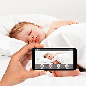Amazon Com Panasonic Kx Hn6001w Smart Home Monitoring