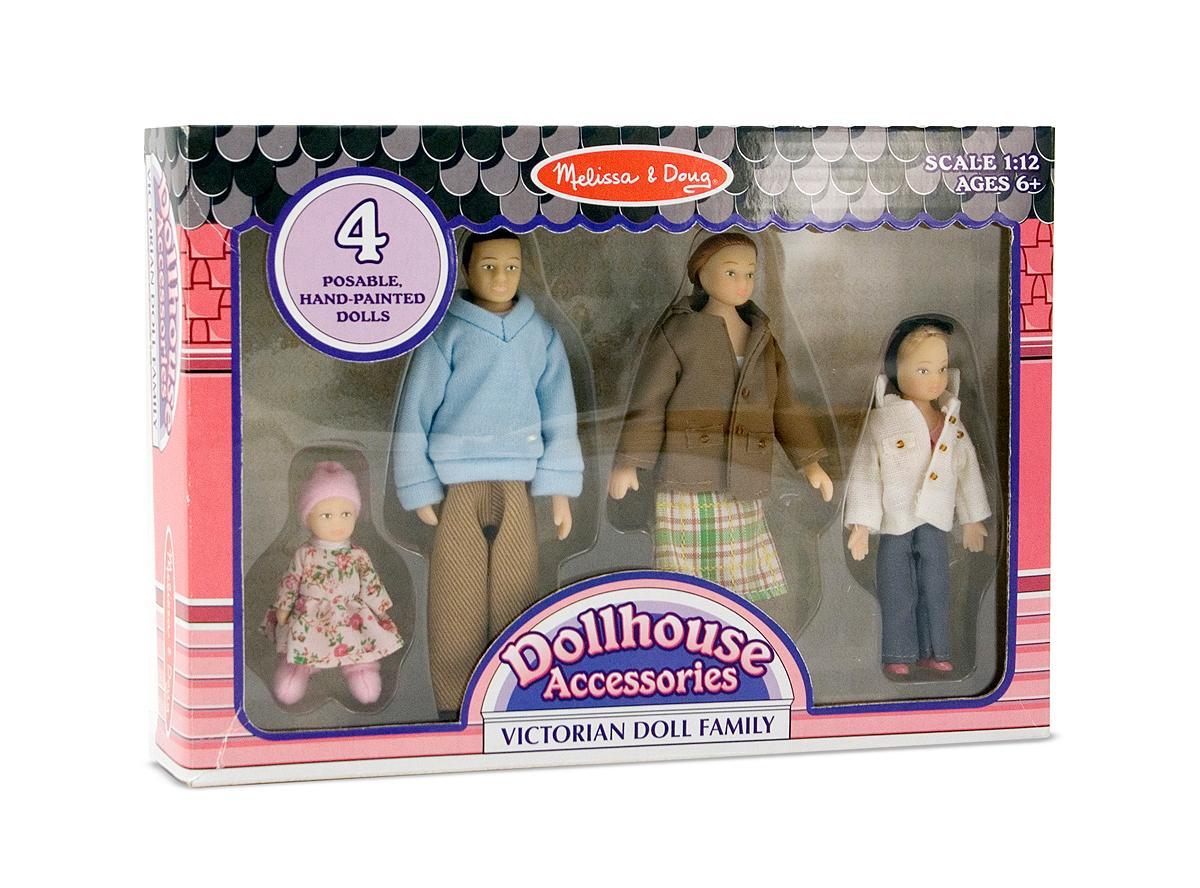 Amazon Com Melissa Amp Doug Victorian Doll Family Melissa