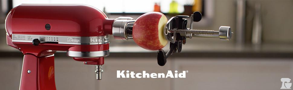 Kitchenaid Spiralizer With Peel Core And Slice