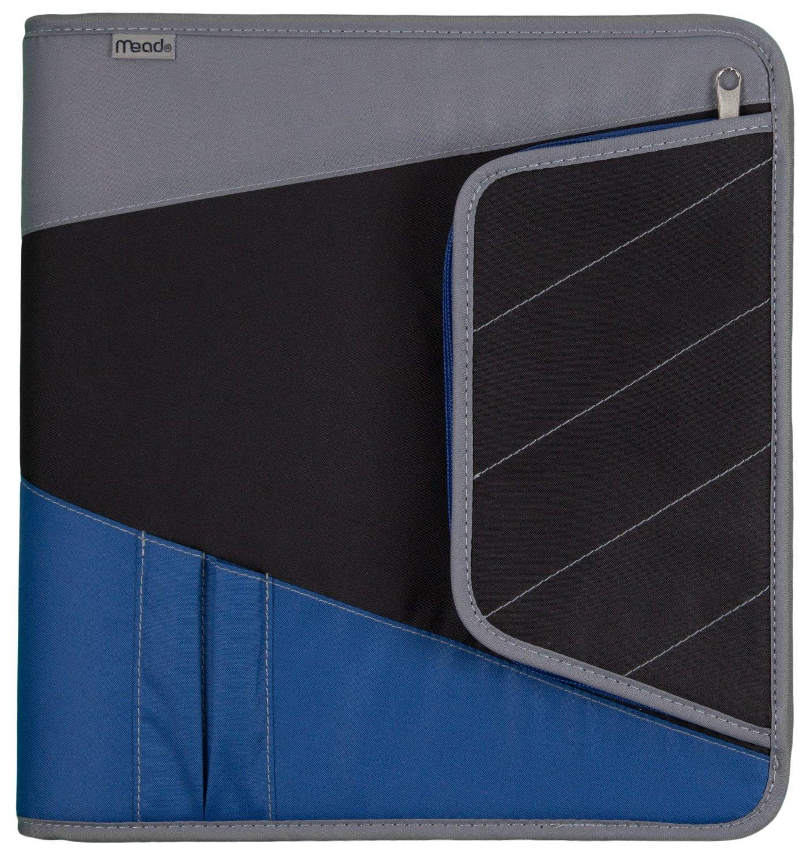 Amazon.com : Mead Zipper Binder With Maximum Storage, 3
