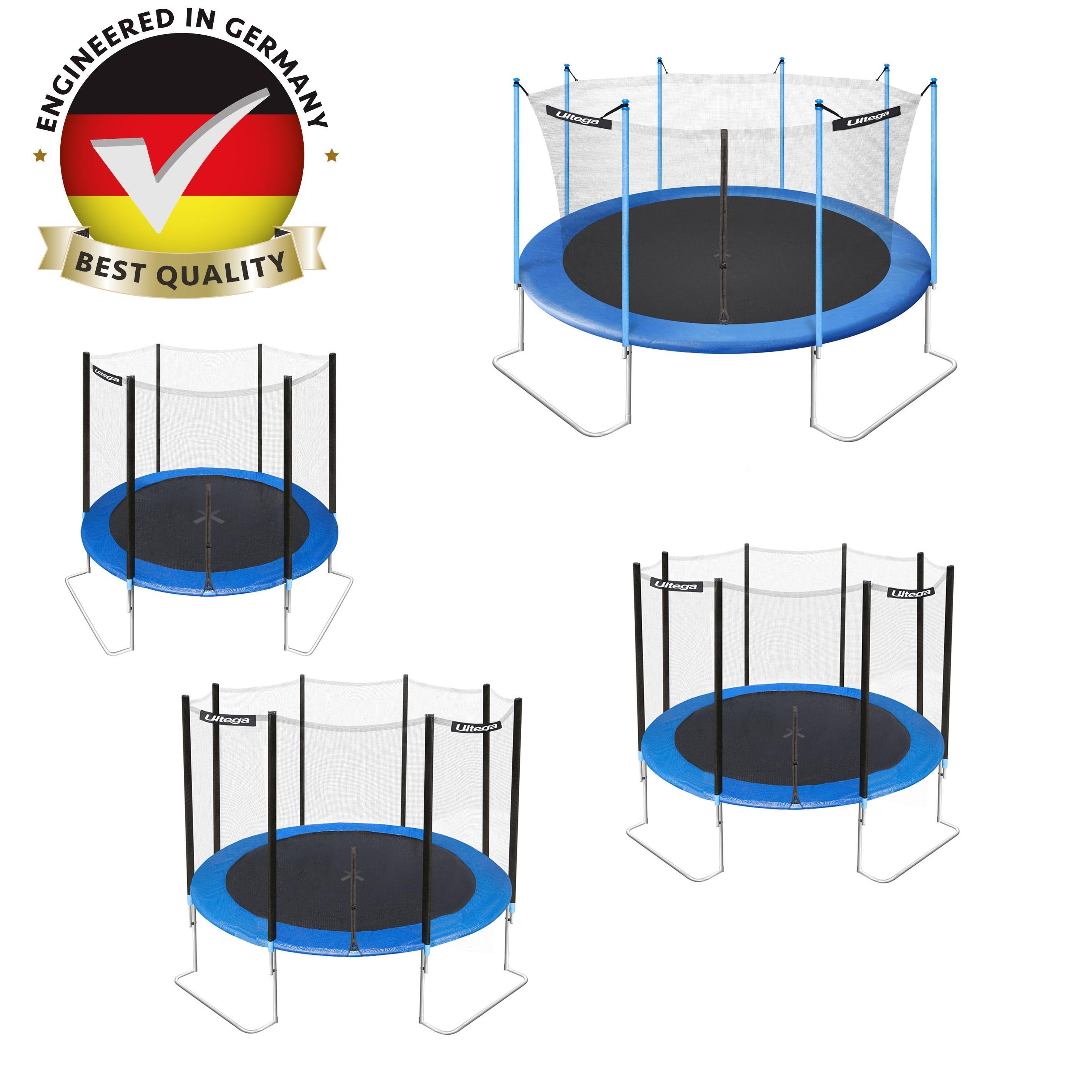 Trampoline Parts Jumptek: Amazon.com : Ultega Jumper Trampoline With Safety Net, 10
