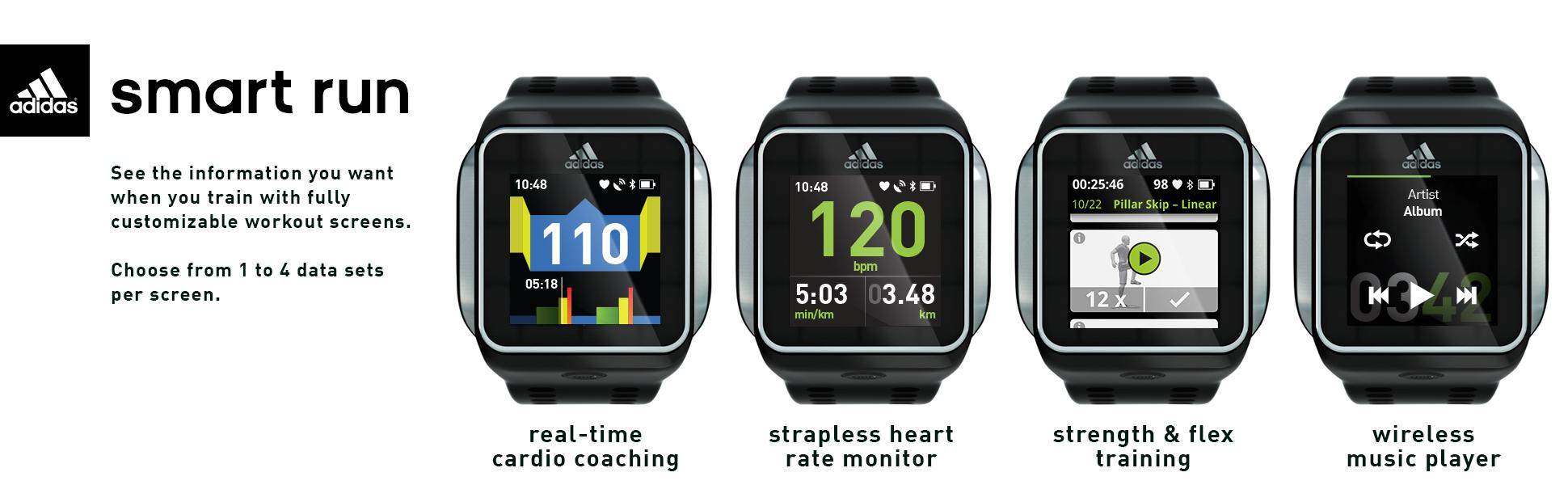 4be01594f60 relógio adidas micoach smart run - Couleurs Bijoux