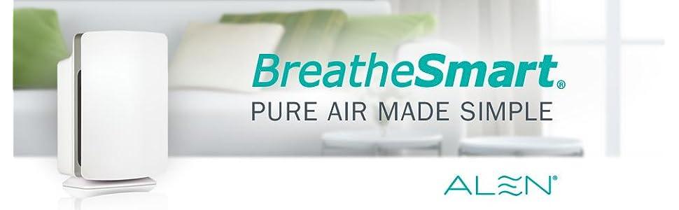 Amazon Com Alen Breathesmart Hepa Air Purifier With