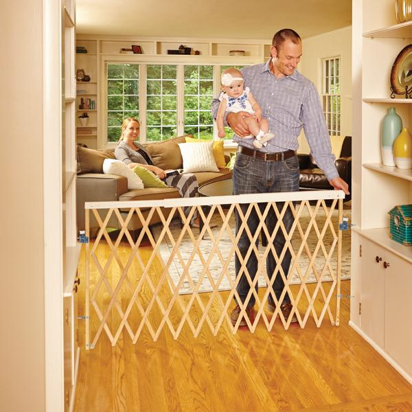Amazon Com North States Supergate Expandable Swing Gate