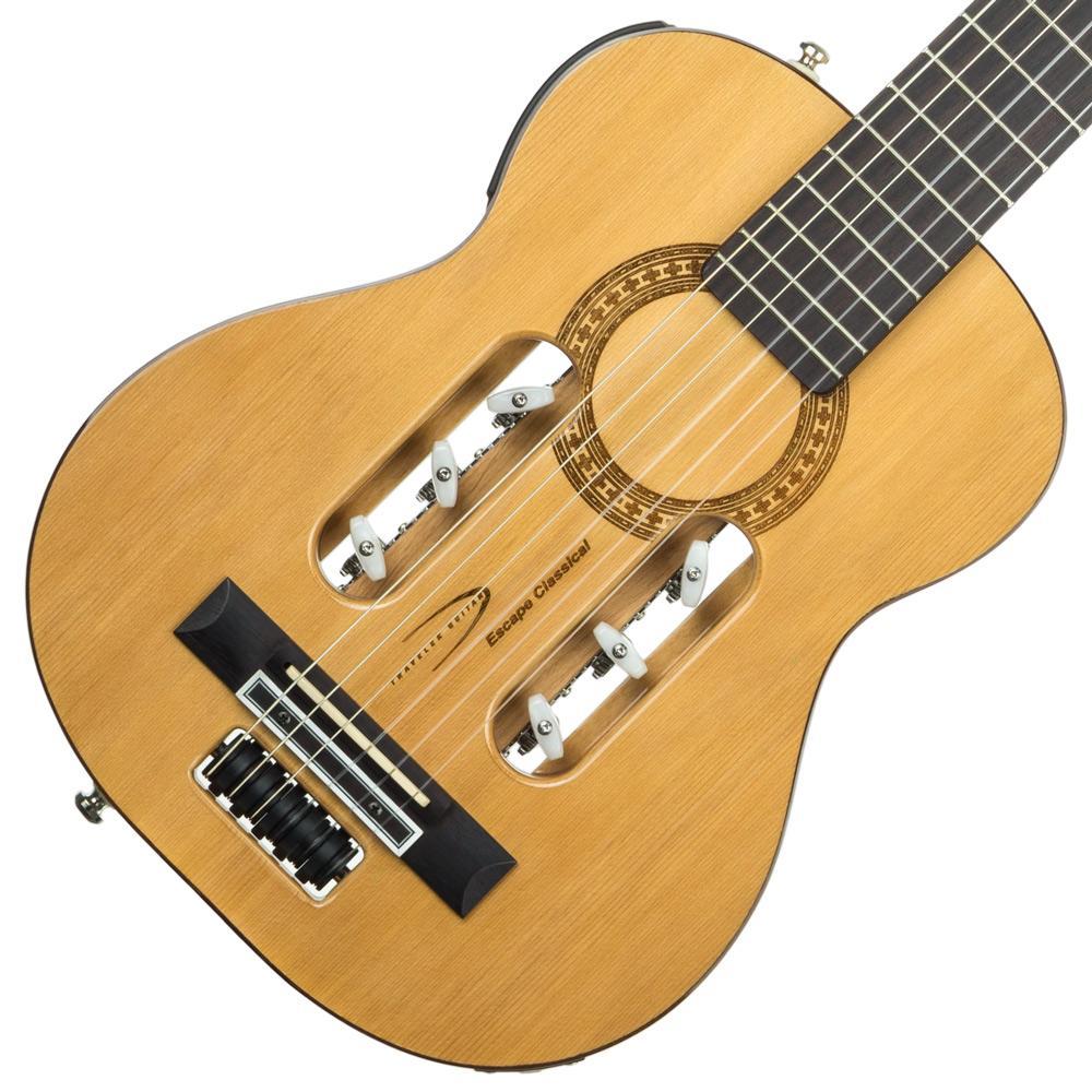 traveler guitar escn gls escape classical nylon string acoustic electric travel. Black Bedroom Furniture Sets. Home Design Ideas