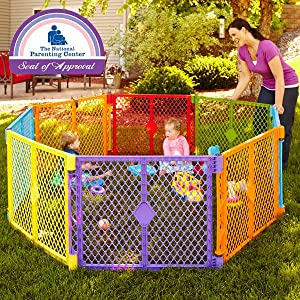 Amazon Com North States Superyard Colorplay 8 Panel