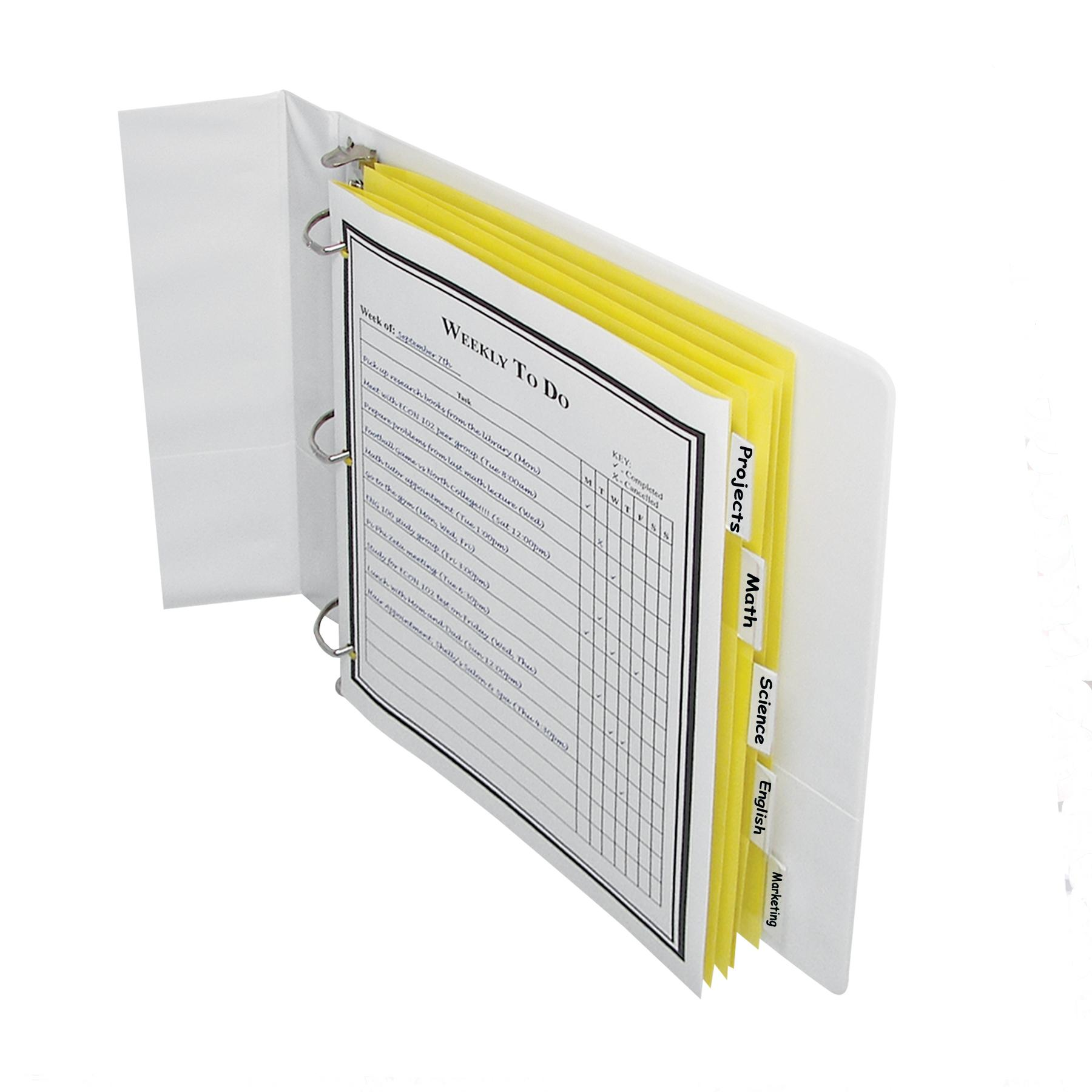 C-Line Paper Index Dividers