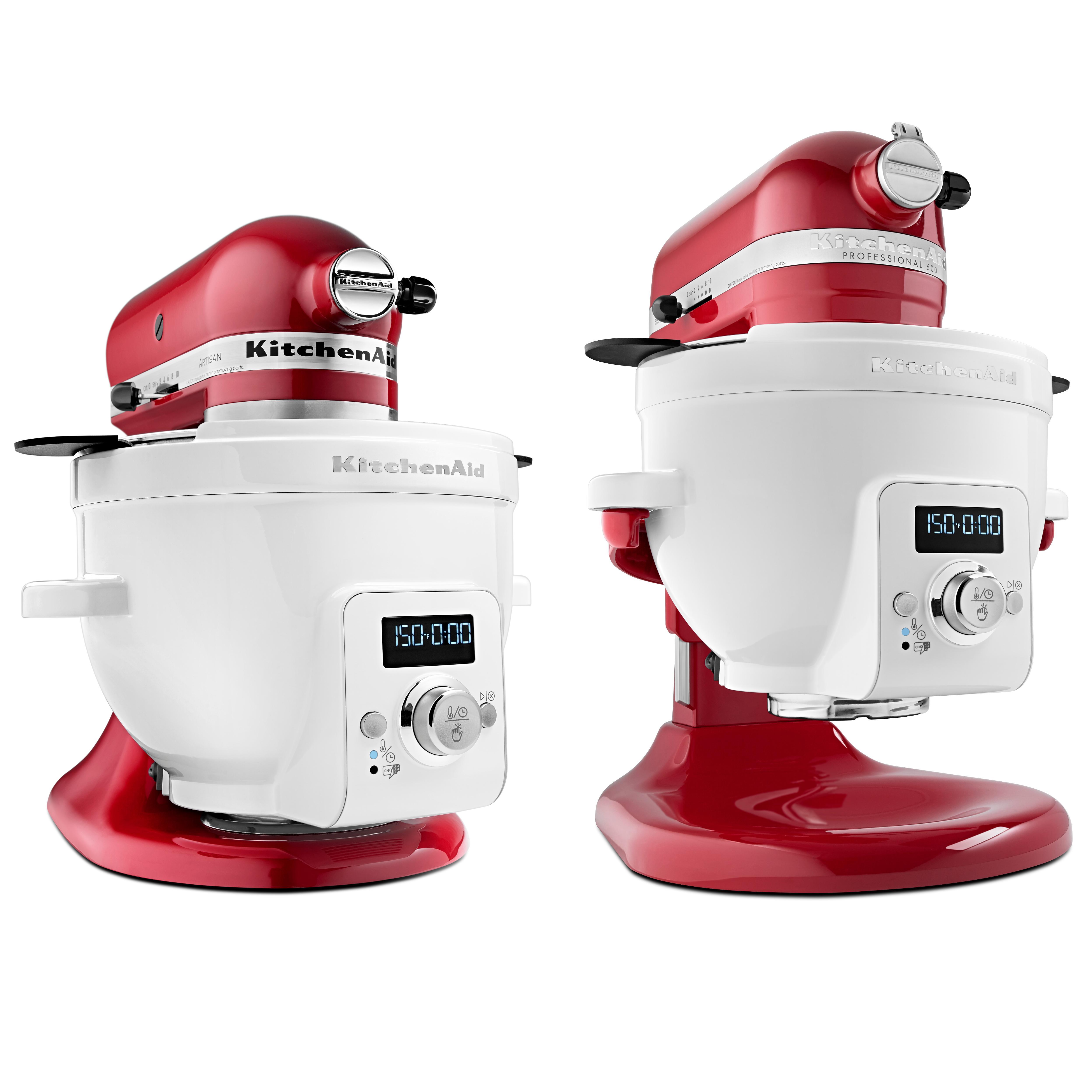 Kitchen Stand Mixer Heated Bowl Attachment Yogurt Bread