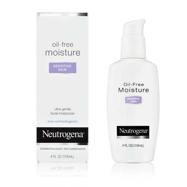 Amazon Com Neutrogena Oil Free Moisture Sensitive Skin 4