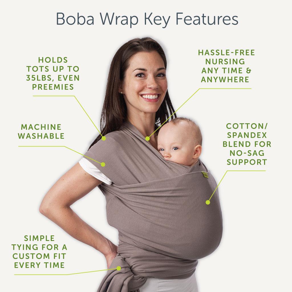 Echarpe de portage Boba Wrap Stardust - Parents Bio |Boba Wrap Stardust