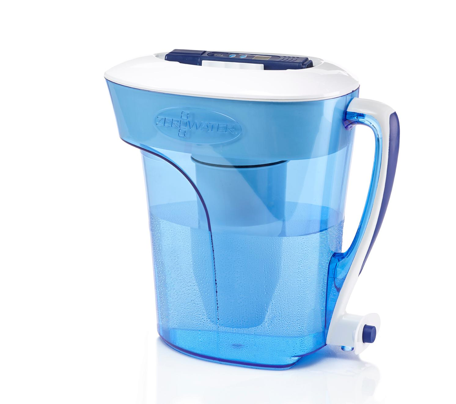 Amazon Com Zerowater Zp 010 10 Cup Pitcher Pitcher Water