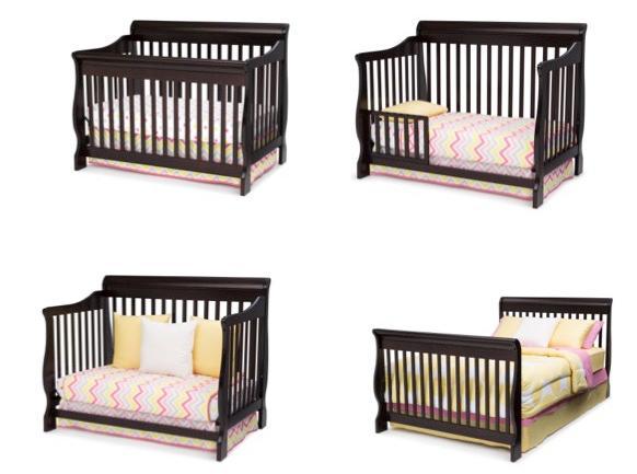Amazon.com : Delta Children Canton 4-in-1 Convertible Crib