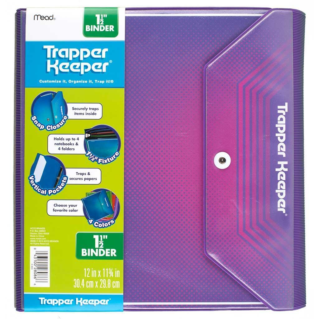 Amazon.com : Mead Trapper Keeper Snapper Trapper Binder, 1