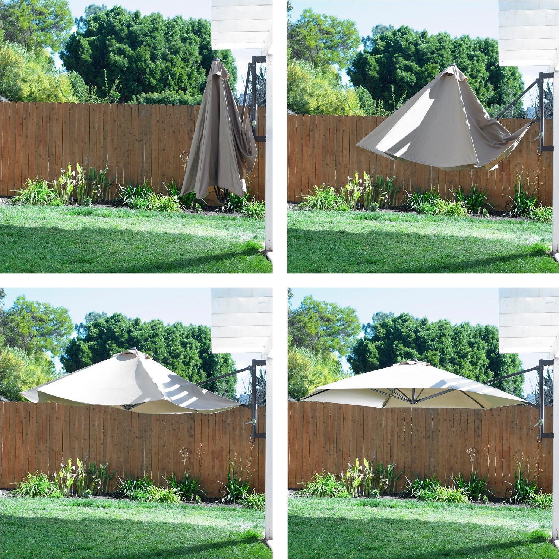Amazon Com Mission Hills 26766 Co Tucson Wall Umbrella