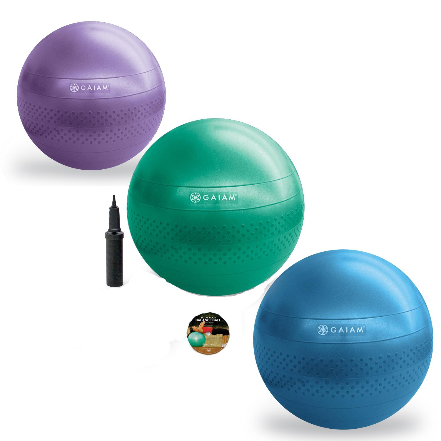 Balance Ball Dvd: Available In 3 Sizes: (55, 65, 75cm