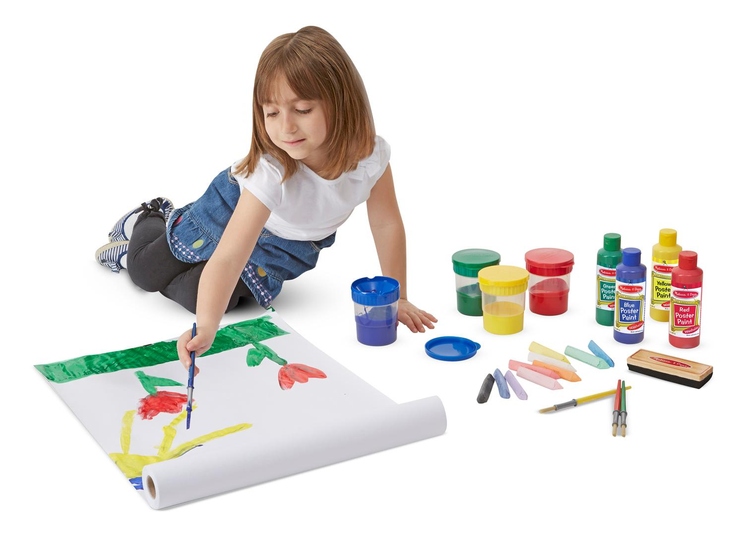Amazon Com Melissa Amp Doug Easel Accessory Set Melissa