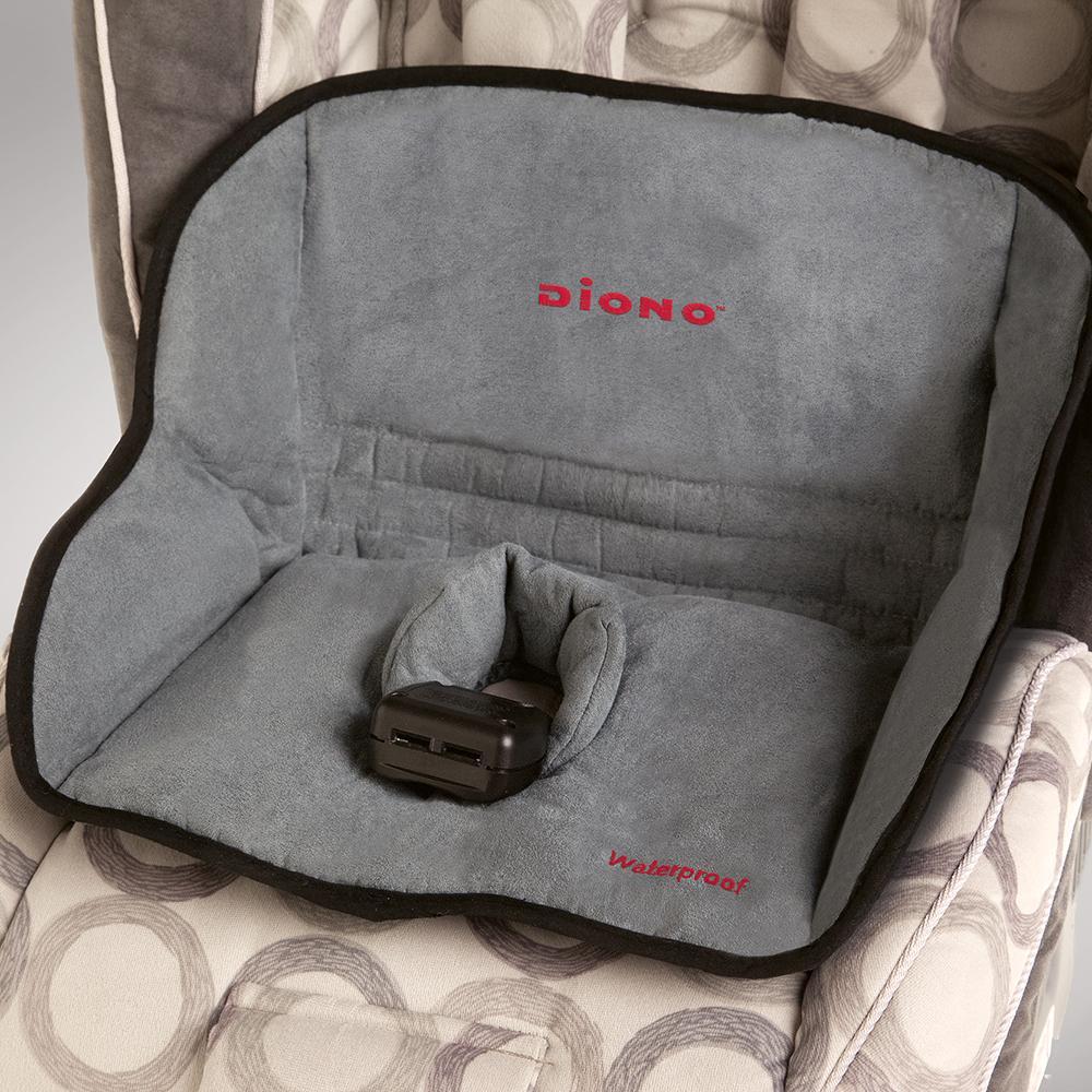 Amazon.com : Diono Dry Seat Car Seat Protector, Grey