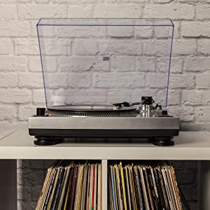 Amazon Com Crosley C100a Si Turntable With S Shaped Tone