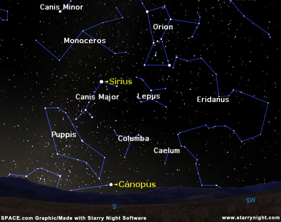 sirius star map by the dippers - photo #38