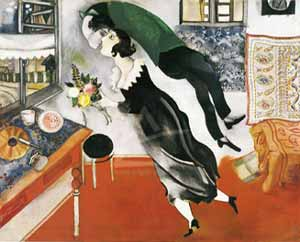 Chagall Birthday Print.