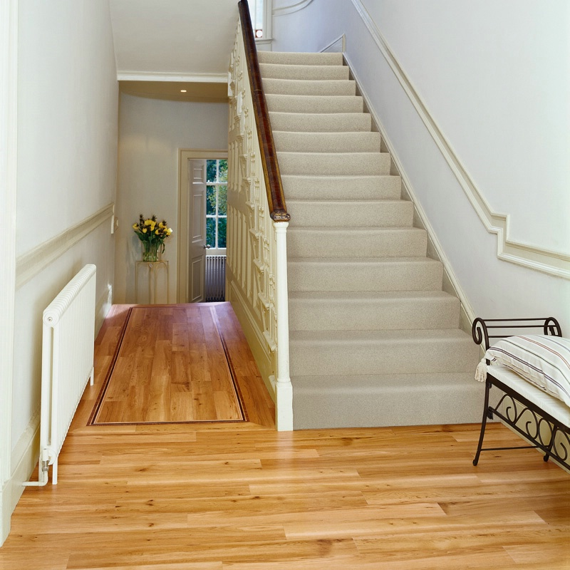 How To Lay Wood Flooring In An L Shaped Hall
