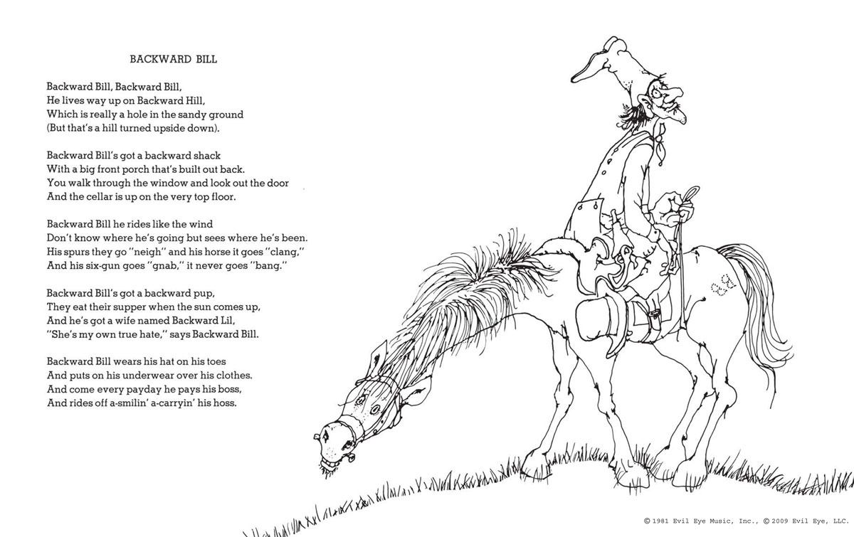 Funny Poems By Shel Silverstein: A Light In The Attic Special Edition: Shel Silverstein