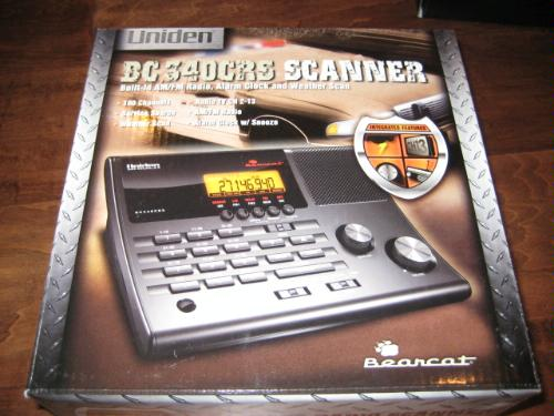 Best Deals Uniden Bc340crs 100 Channel Clock Radio Scanner