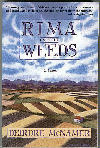 Rima in the Weeds: A Novel, McNamer, Deirdre