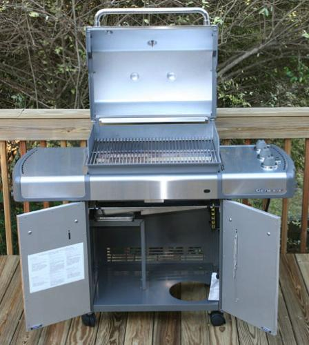 Weber Genesis S 310 >> Amazon.com : Weber 3770001 Genesis S-310 LP Gas Grill, Stainless Steel (Discontinued by ...