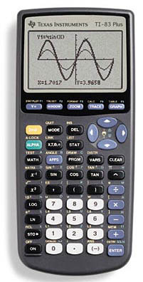 2017 high quality new ti-84 plus graphic calculator ap / sat exam.