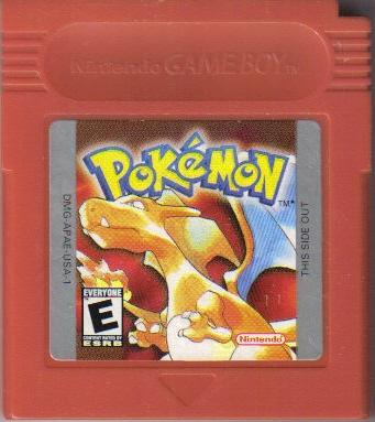 Pokemon Red Cartridge Sticker Images   Pokemon Images