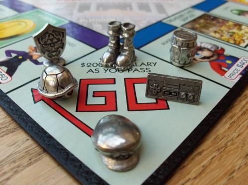 Monopoly Nintendo Special Collectors Edition board game