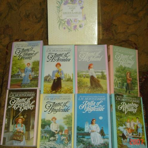 Anne Of Green Gables Complete 8 Book Box Set Anne Of