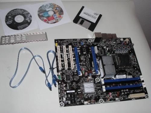 Intel desktop board dp45sg