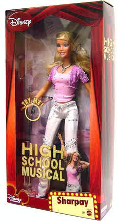 Amazon.com: High School Musical Sharpay Doll: Toys & Games