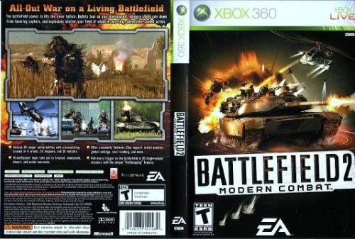 Battlefield: bad company 2 xbox 360 box art cover by cuhnadian.
