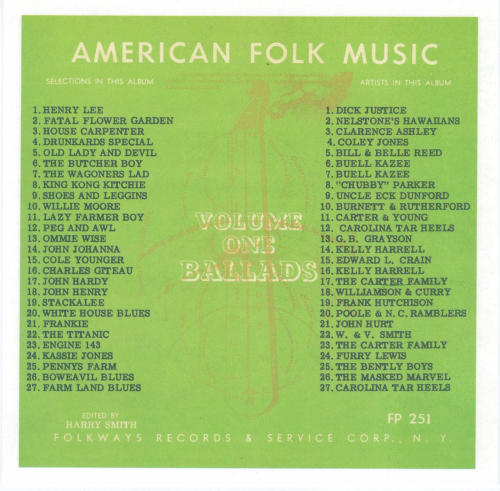 American folk music revival