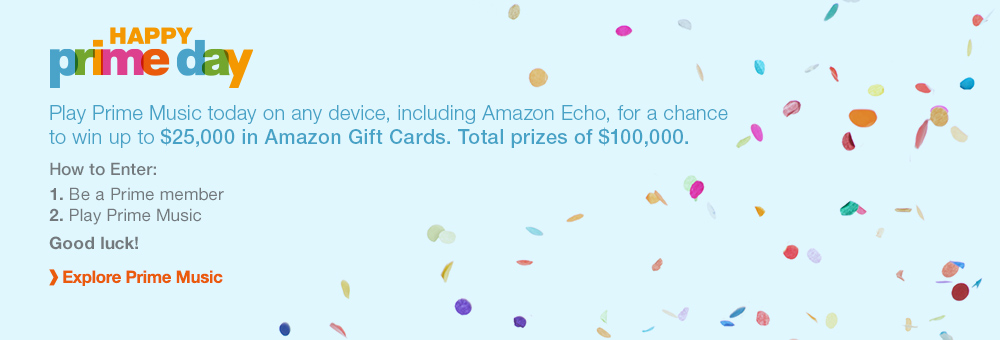 Sweepstakes: Win Up To $25,000 In Amazon Gift Cards (Today Only