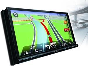 sony xnv l77bt dvd moniceiver mit navigationssystem 17 8. Black Bedroom Furniture Sets. Home Design Ideas