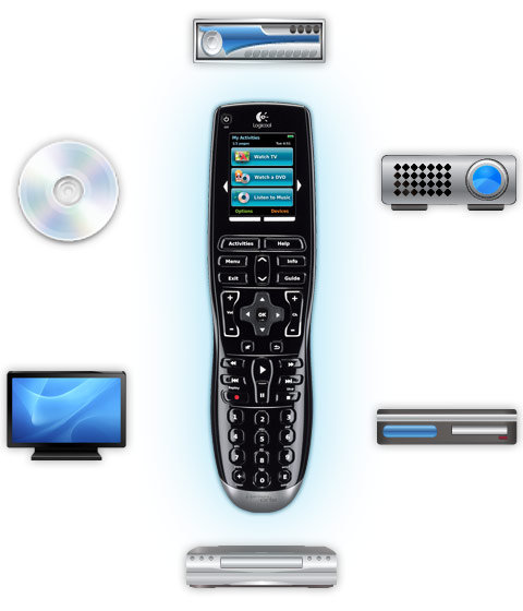 Amazon Com Logitech Harmony One Universal Remote With