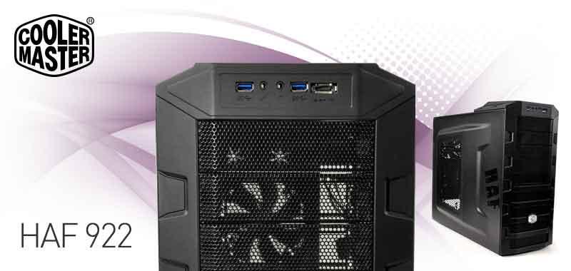 Amazon Com Cooler Master Haf 922 Mid Tower Computer