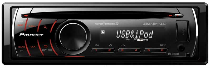 Pioneer 4 X 50 Watts Deh 3200ub Car Stereo Price In Pakistan