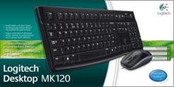 logitech desktop mk120 mouse and keyboard combo electronics. Black Bedroom Furniture Sets. Home Design Ideas