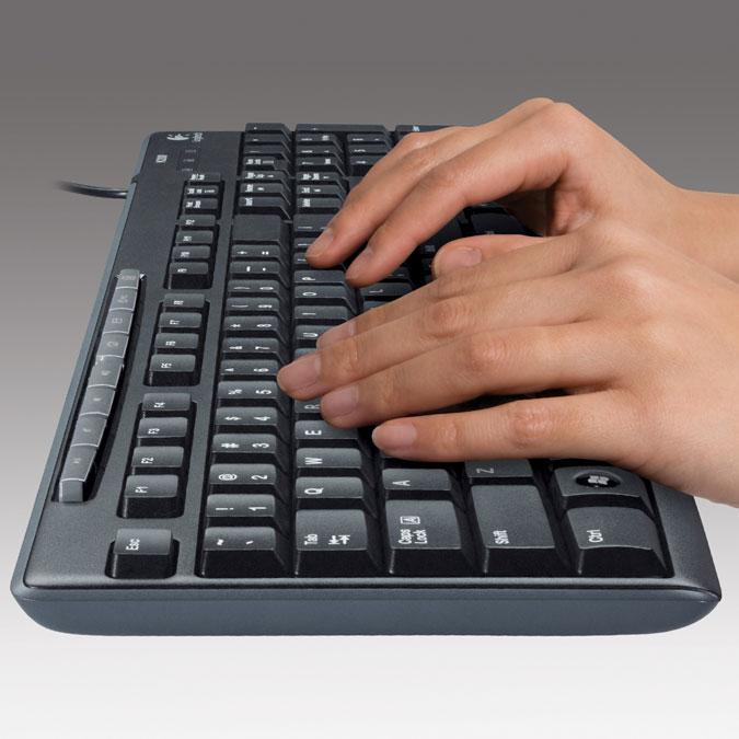 Logitech Media Keyboard- USB K200 price in Pakistan, Logitech in Pakistan at Symbios.PK