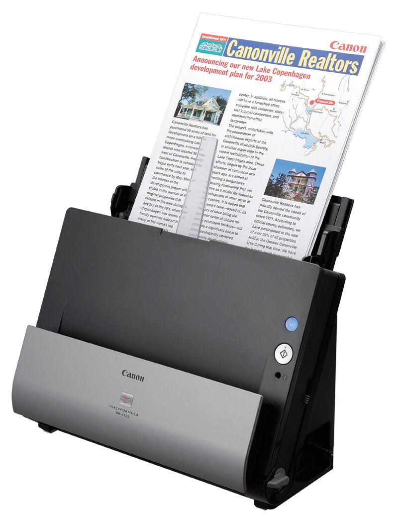 Amazon.com: Canon imageFORMULA DR-C125 Office Document ...
